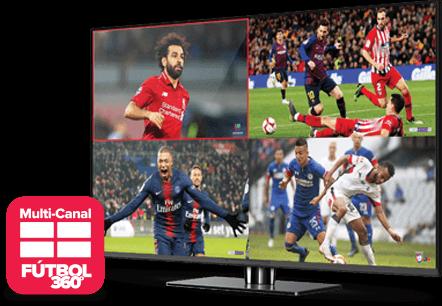 Multi Channel - Fútbol 360 - Frankfort, IN - J & J Satellite - Distribuidor autorizado de DISH