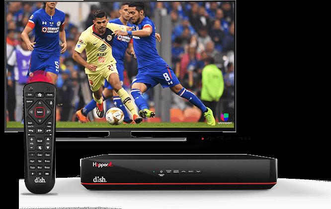 DISH Hopper DVR - Control remoto de voz - Frankfort, IN - J & J Satellite - Distribuidor autorizado de DISH