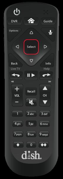 Control remoto de voz - Frankfort, IN - J & J Satellite - Distribuidor autorizado de DISH