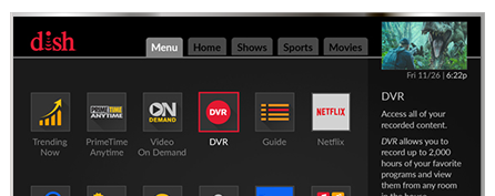 Vea television con DISH - J & J Satellite en Frankfort, IN - Distribuidor autorizado de DISH